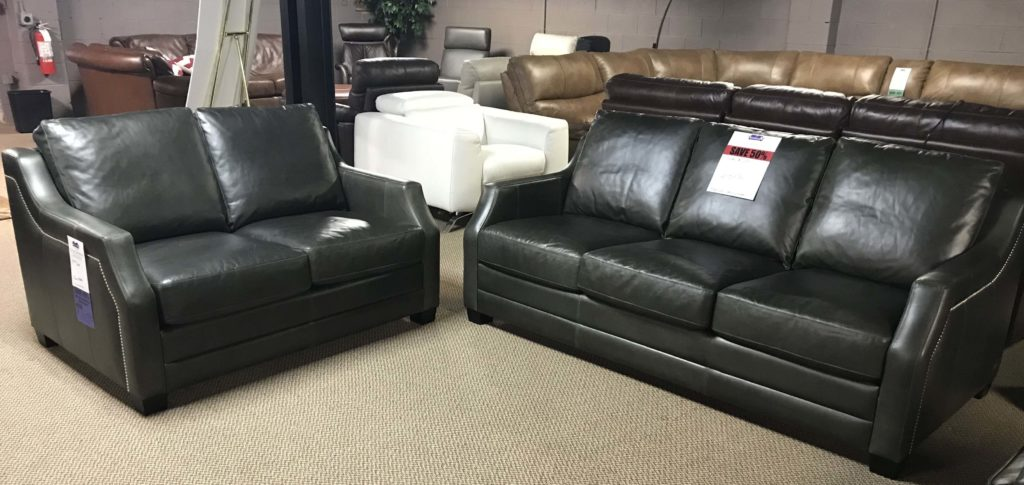 Brentwood Classics 8 Way Hand Tied Sofa And Loveseat