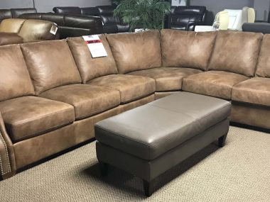 Brentwood Classics 8 way hand tied Distressed Sectional