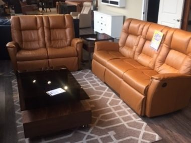 IMG Verona Power Sofa and Reclining Loveseat in Camel