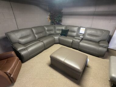 PH Power Sectional in Steel Grey